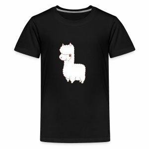 Alpaca scribble - Teenager Premium T-Shirt