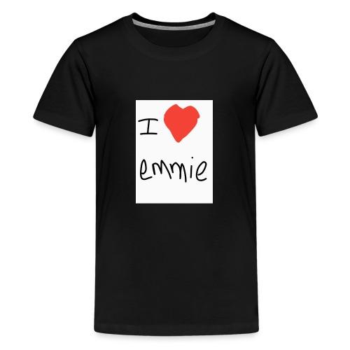 i love emmie - T-shirt Premium Ado