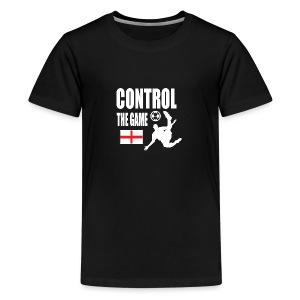 England control the game Russia 2018 - Teenage Premium T-Shirt