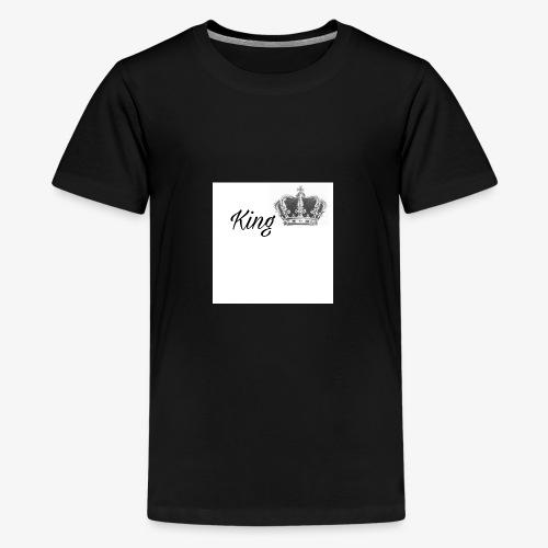 KING SHIRT👑😍 - Teenager Premium T-Shirt