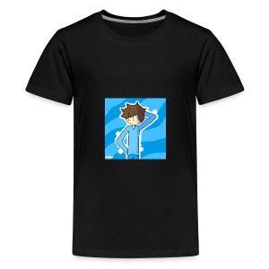 George Morgan West - Teenage Premium T-Shirt