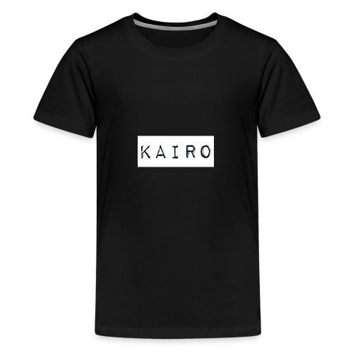 KAIRO (official) LOGO - Koszulka młodzieżowa Premium