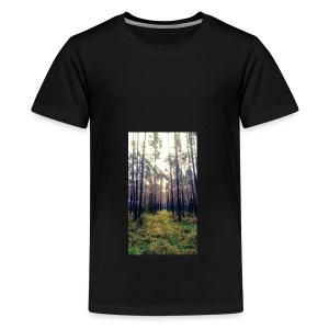 Las we mgle - Koszulka młodzieżowa Premium