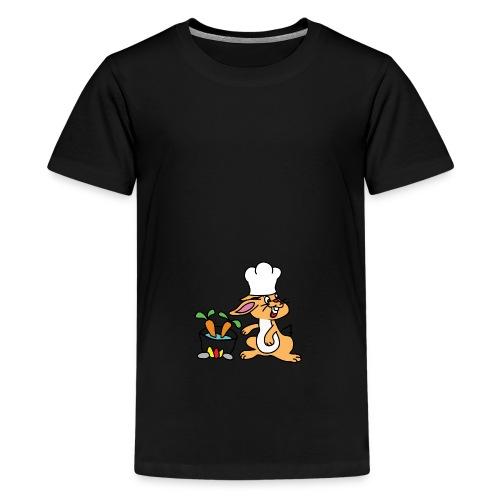 Chefkopf Hase - Teenager Premium T-Shirt