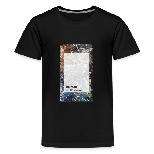 no face just design - Teenager Premium T-Shirt
