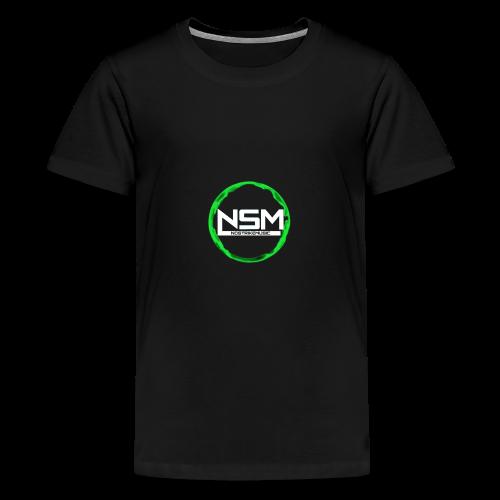 Unser Kreis mit unserem Logo ein bisschen lustig - Teenager Premium T-Shirt