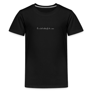 sunshine Collection - Premium T-skjorte for tenåringer