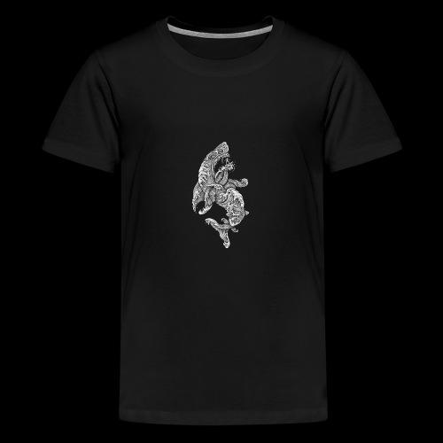 Shark Surfer - Teenager Premium T-Shirt