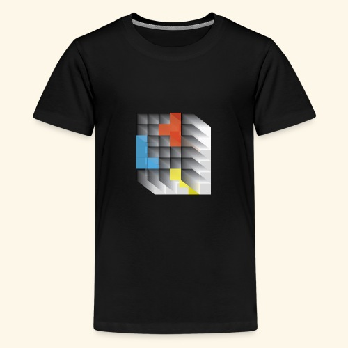 Vintage Block Game - Teenage Premium T-Shirt