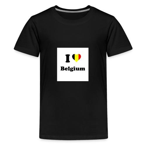i love belgium - Teenager Premium T-shirt