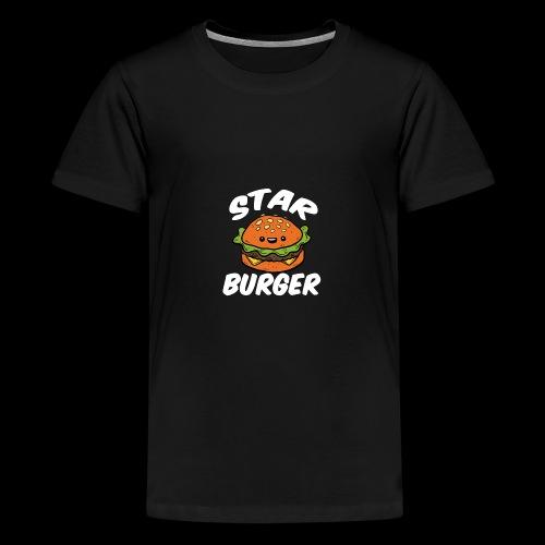 Star Burger Brand - Teenager Premium T-shirt