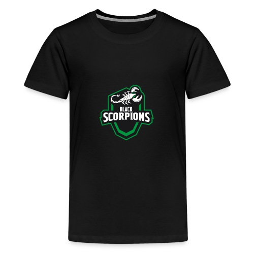 Black Scorpions Logo - Teenager Premium T-Shirt