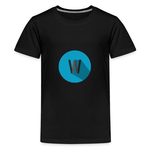Weekiewee logo - Teenage Premium T-Shirt