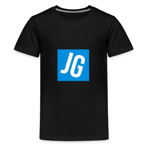 Jerraz Gaming Logo - Teenage Premium T-Shirt