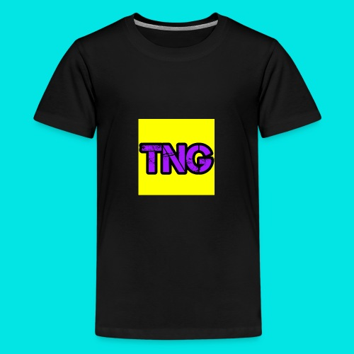 New TNG LOGO - Teenage Premium T-Shirt