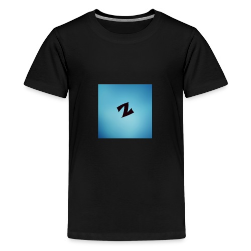 ZyproPlays logo - Teenage Premium T-Shirt