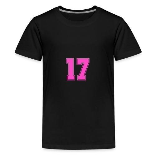 #17 - Teinien premium t-paita