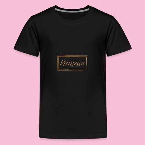 Prinsessa - Premium-T-shirt tonåring