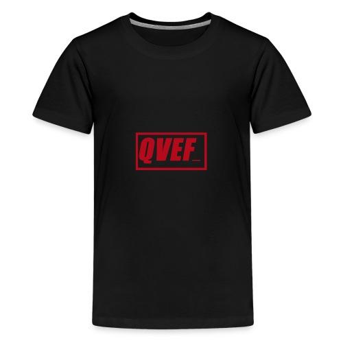 QVEF Rojo - Camiseta premium adolescente