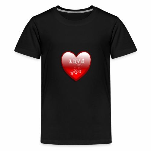 Love You - Teenager Premium T-Shirt