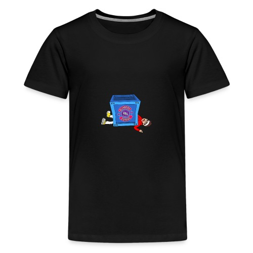 BG Limited Time Fortnite Inspired Design - Teenage Premium T-Shirt