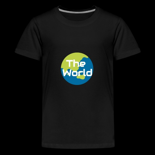 The World Earth - Teenager premium T-shirt