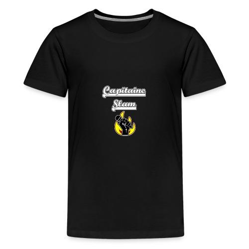 CAPITAINE SLAM - JEUX DE MOTS - FRANCOIS VILLE - T-shirt Premium Ado