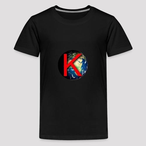 OFFICIAL Know Earth IT - Maglietta Premium per ragazzi