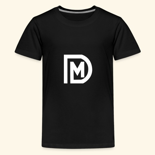 DM LOGO - Teenager Premium T-Shirt
