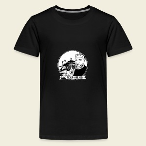 Don't fear the BEAR(d) - Teenager Premium T-Shirt