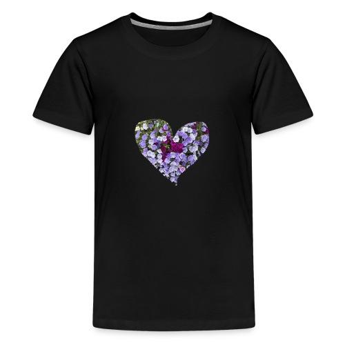 Du bist mein Herzilein - Teenager Premium T-Shirt