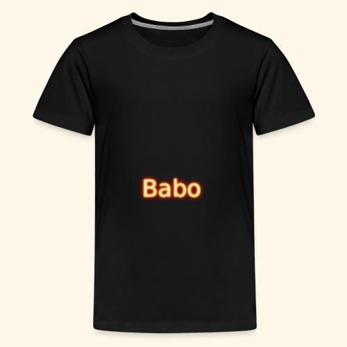 Babo - Teenager Premium T-Shirt
