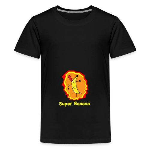 Super Banana - Teenage Premium T-Shirt