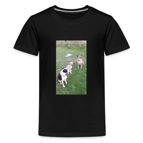 DID SOMEONE SAY SOMTHING - Teenage Premium T-Shirt