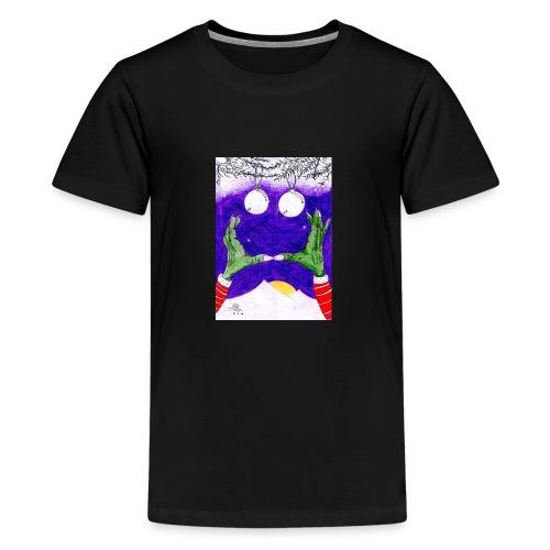 Monstruo - Camiseta premium adolescente