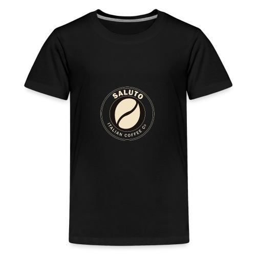 Saluto Coffee Edinburgh - Teenage Premium T-Shirt