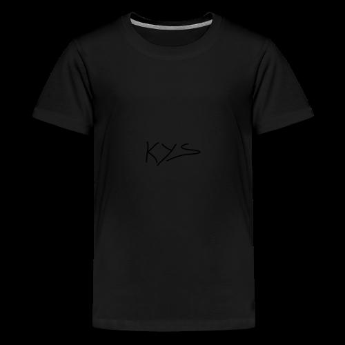 Kys - Premium T-skjorte for tenåringer