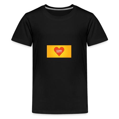 I LOVE COMMUNITY T-SHIRT - Teenager Premium T-Shirt