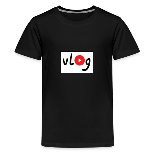 Vlog merch - Teenage Premium T-Shirt
