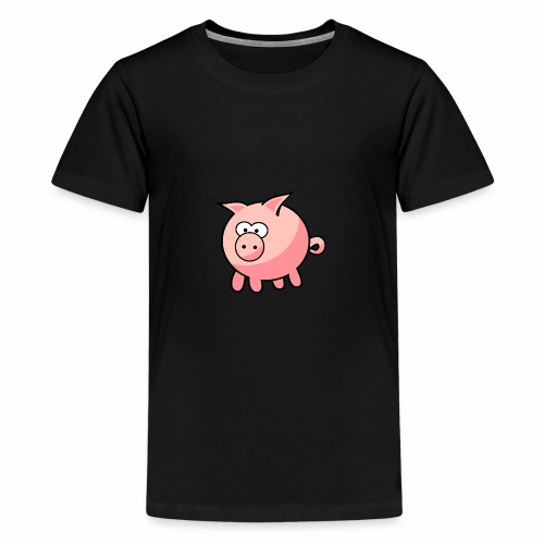 PiggyGamer - Teenage Premium T-Shirt