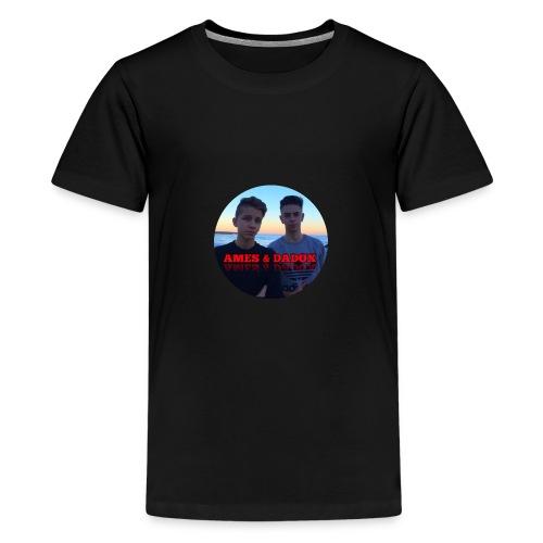 AMES & DADOX - Maglietta Premium per ragazzi