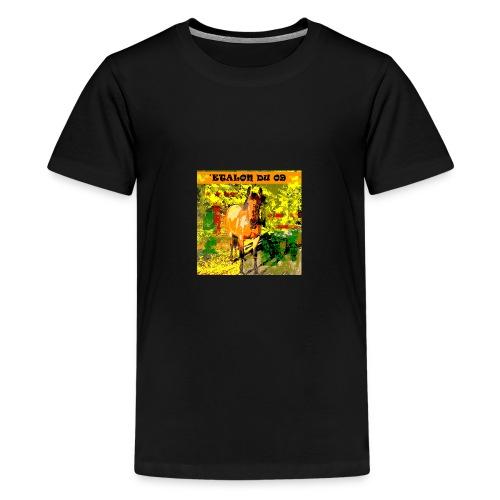 CHEVAL ETALON - T-shirt Premium Ado
