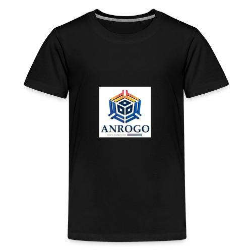 ANROGO - Camiseta premium adolescente