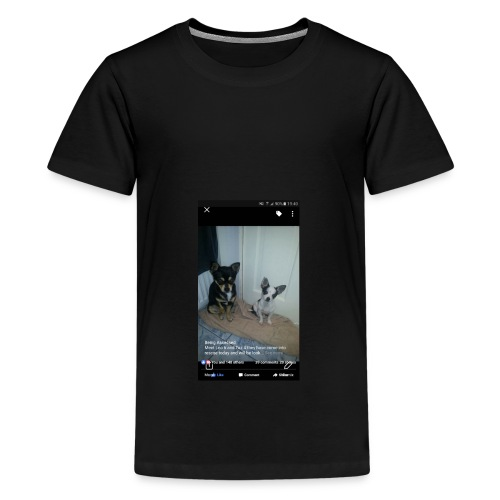 Dogs - Teenage Premium T-Shirt