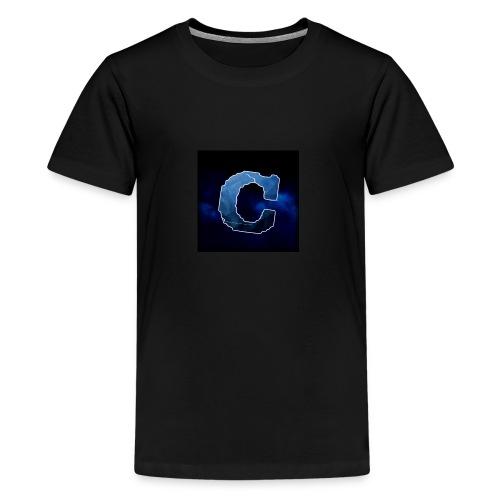 Min nye shop! - Premium T-skjorte for tenåringer