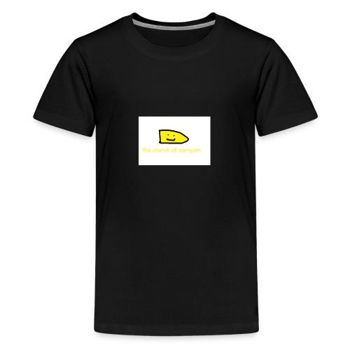 Barryism T-Shirt - Teenage Premium T-Shirt