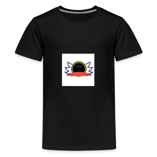 Will you be my player 2 - Teenage Premium T-Shirt