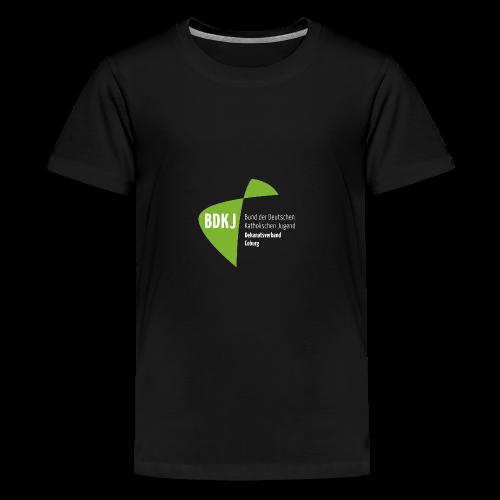 BDKJ Logo Transparenz - Teenager Premium T-Shirt