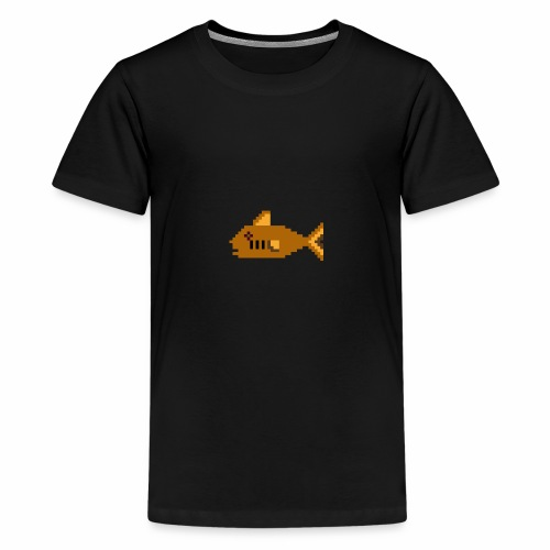 Pixel fish - Teenage Premium T-Shirt