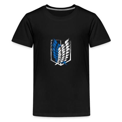 Logo Attack On Titan Brigade d'exploration - T-shirt Premium Ado